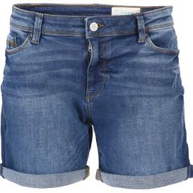 Damen Jeans Shorts mit Abnutzungsdetails