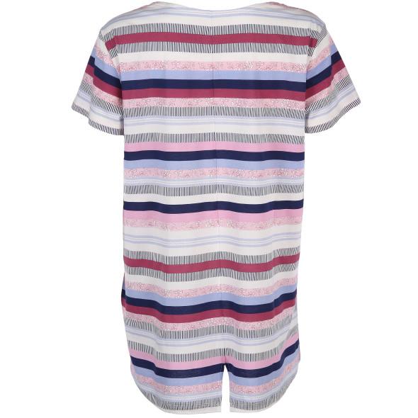 Damen Shirt im Streifenlook
