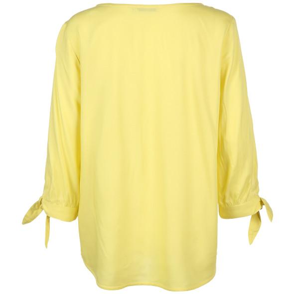 Damen Blusenshirt mit V-Ausschnitt