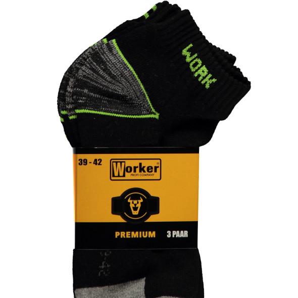 Worker Socken im 3er Pack