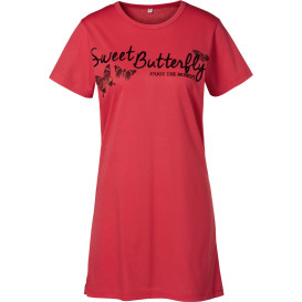 Damen Bigshirt mit Frontprint