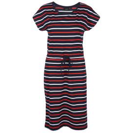 Damen Kleid mit Streifenoptik