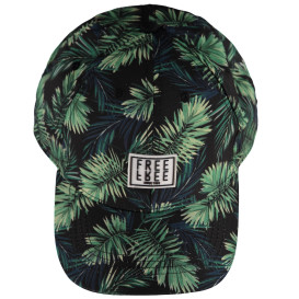 Herren Cap mit Jungle Muster