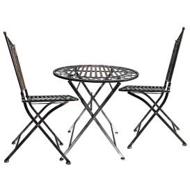 Garten Möbel Set 3tlg aus Eisen