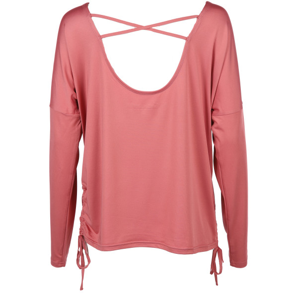 Damen Sport Shirt mit Glitzerprint