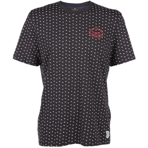 Herren T-Shirt mit Palmenprint