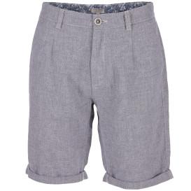 Herren Shorts aus grobem Leinenmix