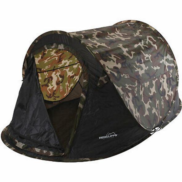 Wurfzelt im Camouflage Style 220x120x95cm
