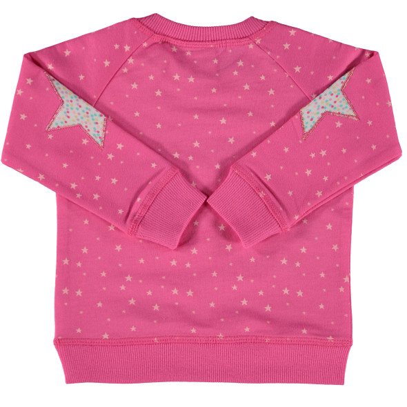 Baby Sweatshirt mit Print, Stickerei und Applikation