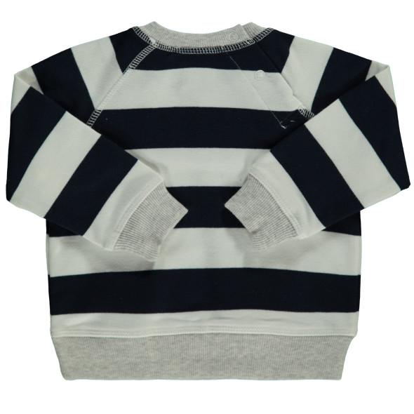 Baby Jungen Sweatshirt im Streifenlook