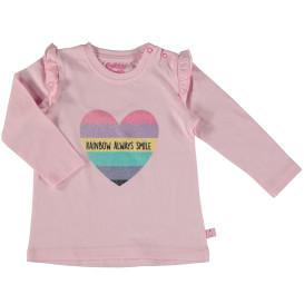 Baby Langarmshirt mit Glitzerprint