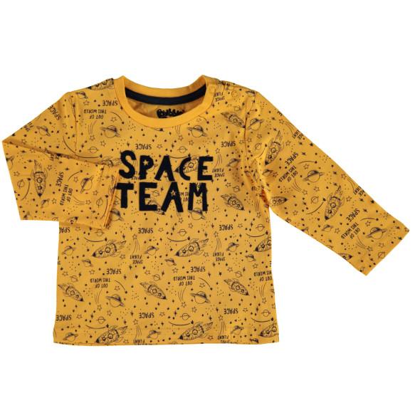Baby Jungen Longsleeve mit Space Print