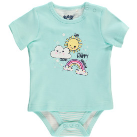 Baby Body Shirt mit kurzem Arm