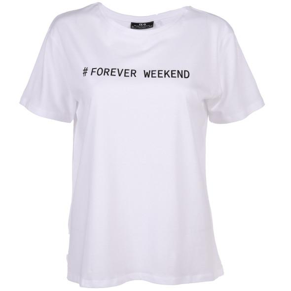 Damen T-Shirt mit Schriftprint