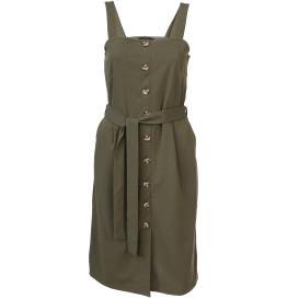 Vero Moda VMMILLE SL BUTTON BLK Kleid