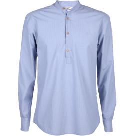 Herren Jack&Jones Premium Hemd mit kleinem Stehkragen
