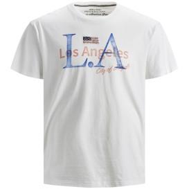 Herren Jack&Jones T-Shirt mit Print und Stickerei