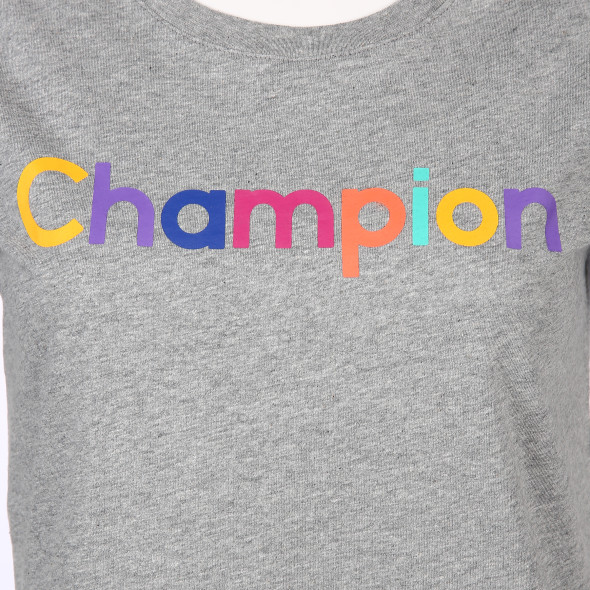 Damen Champion Shirt mit Frontprint