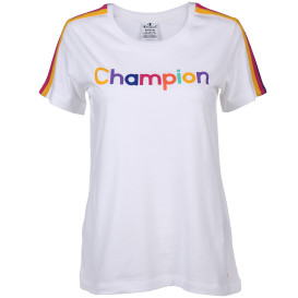Damen Champion Shirt mit Frontprint