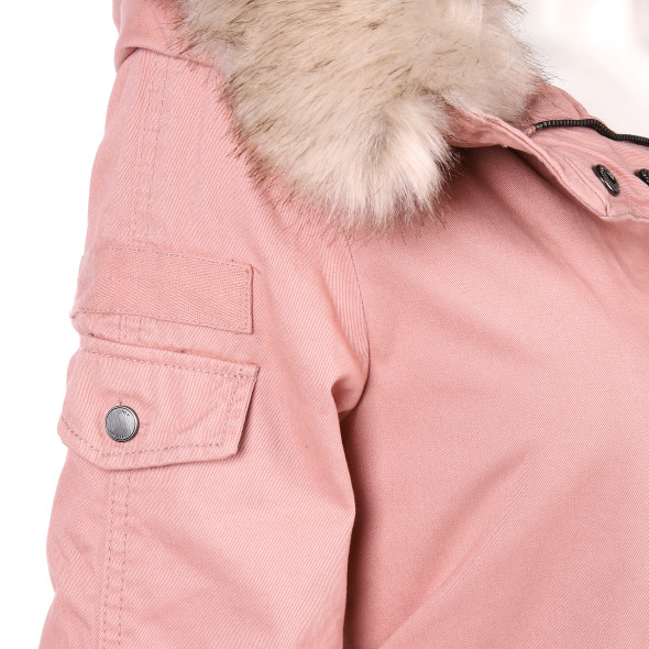 Only ONLMAY FUR CANVAS PAR Parka