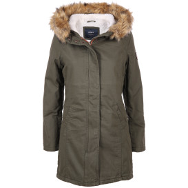Damen Only Parka mit warmem Futter