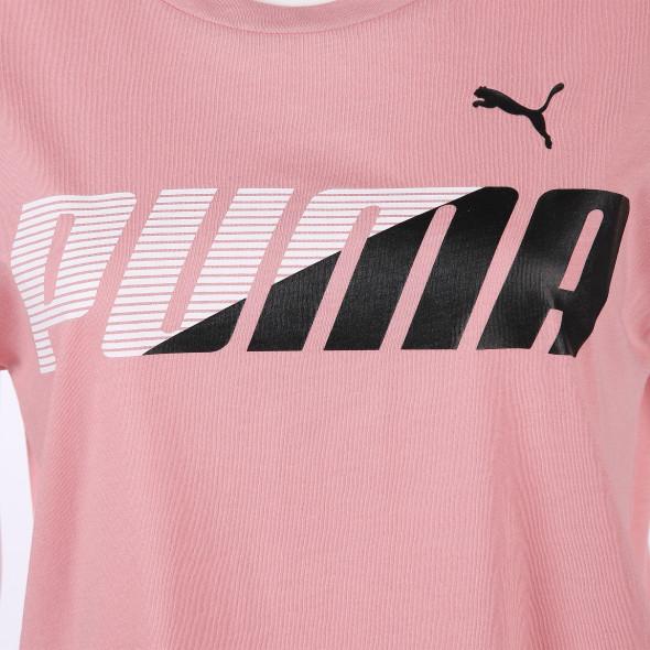 Damen Shirt mit Logoprint