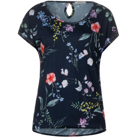 Damen T-Shirt im Blumenprint
