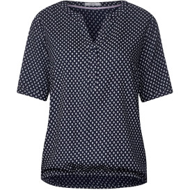Damen Blusenshirt  im Minimalprint