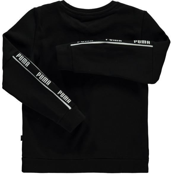 Jungen Sweatshirt mit Logoprint