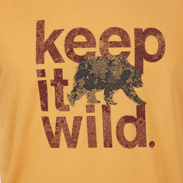 Herren Outdoor Shirt mit Frontprint