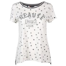 Damen Shirt mit Glitzerprint
