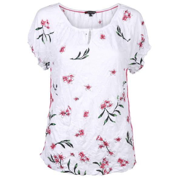 Damen Cras Shirt mit floralem Allover Print