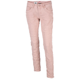 Damen Jeans in gecrashter Optik