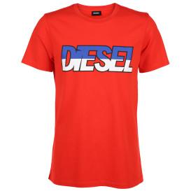 Herren Diesel T-Shirt mit kontraststarkem Print
