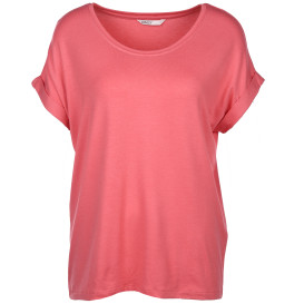Only ONLMOSTER S/S O-NECK unifarbenes Shirt