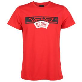 Herren Diesel T-Shirt mit Logoprint