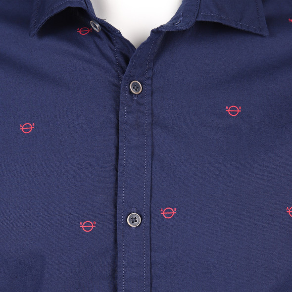 Herren Hemd im Musterprint