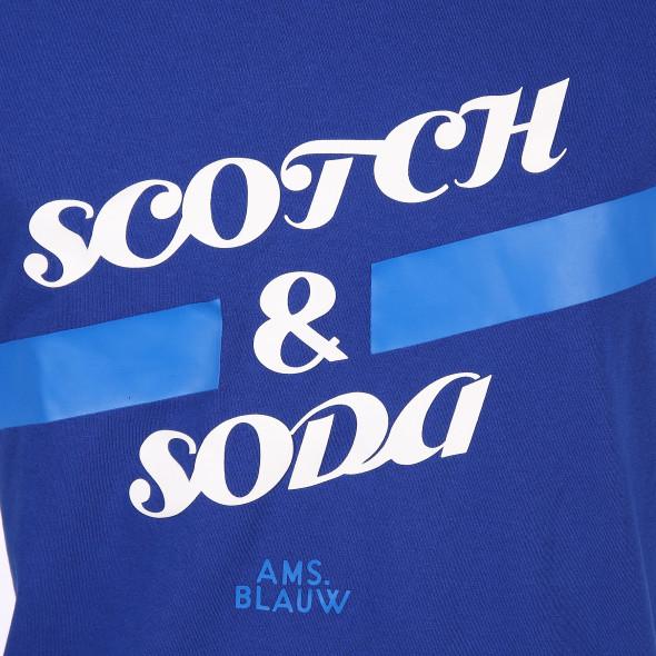Herren Scotch&Soda Shirt mit Print