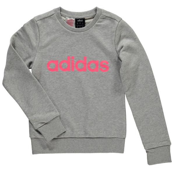 Mädchen Sweatshirt mit Logoprint