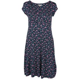 Damen Kleid mit floralem Allover Print