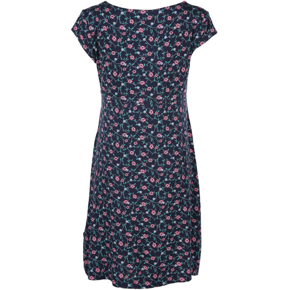 Damen Kleid mit floralem Allover Print