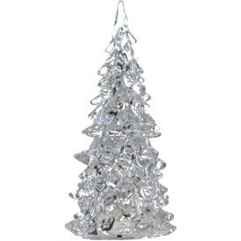 Weihnachtsbaum aus Plexiglas mit LED- Beleuchtung