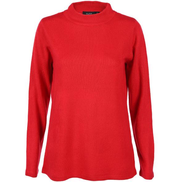 Damen Turtleneck Pullover in Cashmere-Like Qualität