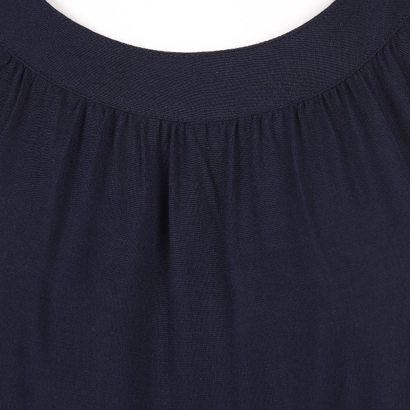 Damen Top mit breiter Borte