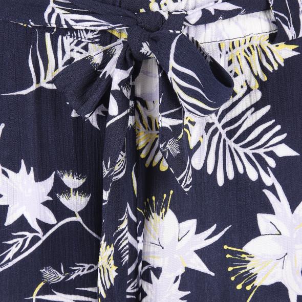 Damen Schlupfhose mit Blumenprint