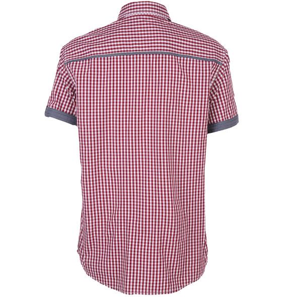 Herren Freizeithemd im Trachten Style mit kurzem Arm