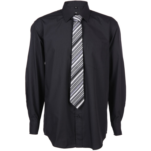 Herren Hemd mit passender Krawatte