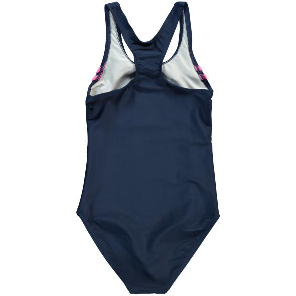 Mädchen Sport Badeanzug mit Streifen