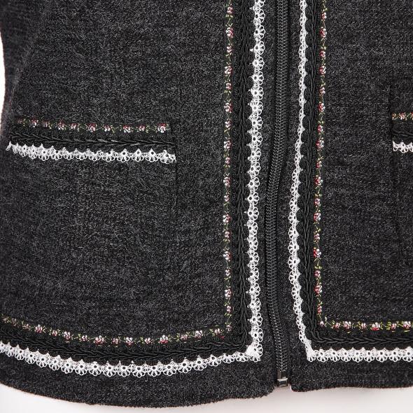 Damen Trachten Cardigan mit Verzierung
