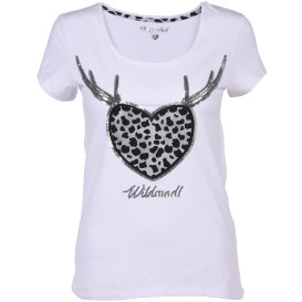 Hailys WILDMADL Trachten T-Shirt mit Pailletten